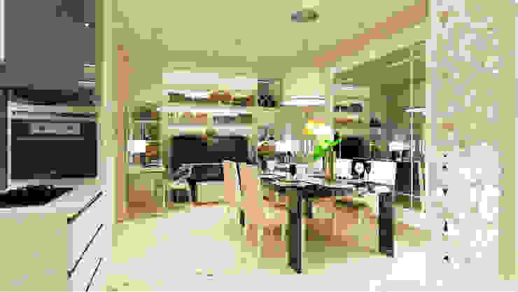 Dinning table area Ruang Makan Modern Oleh aidecore Modern Kayu Lapis