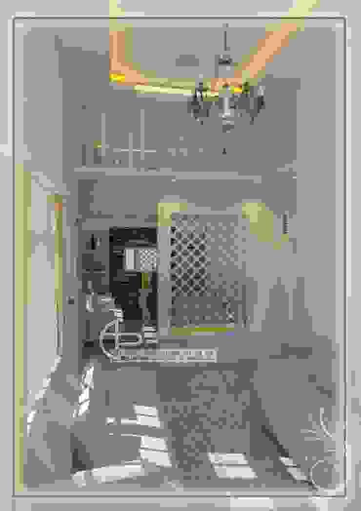 sekat ruang keluarga Ruang Keluarga Modern Oleh Ardha Design Modern