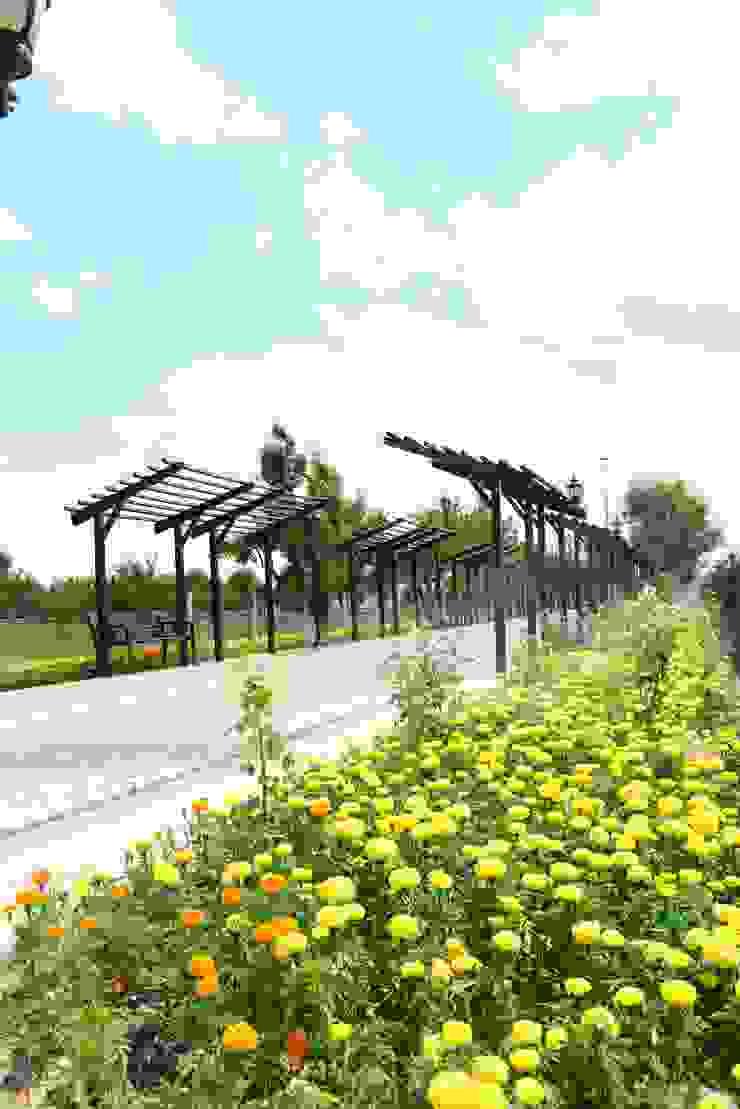 KARAASLAN HADİMİ PARKI ÇİFTSAN BOTANİK VE AYDINLATMA Kırsal Bahçe