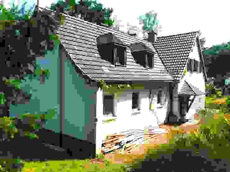 Bestand Ansicht Nordwesten pickartzarchitektur Landhäuser Stein Weiß