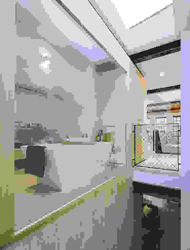 EVA architecten Kamar Mandi Modern