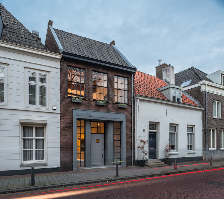 EVA architecten Modern houses