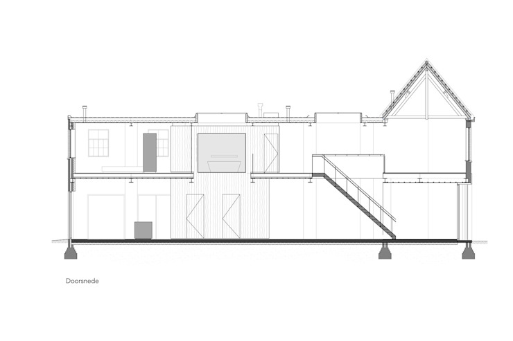 Loft Sixty-Four: modern  door EVA architecten, Modern