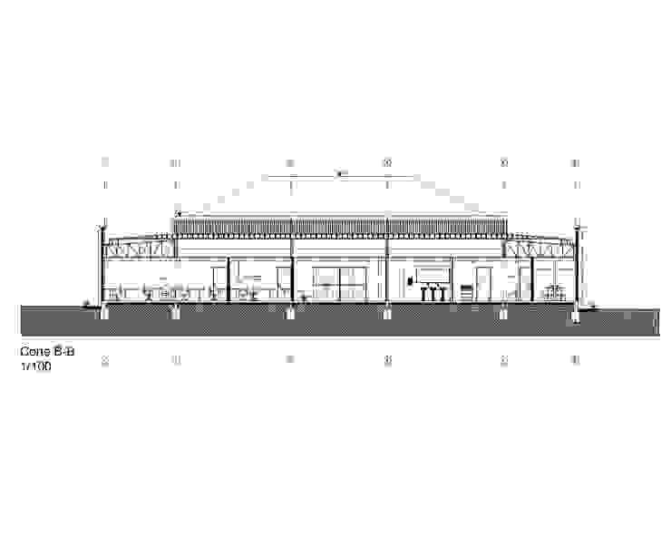 Pabellon Apoyo a la Fuerza _ Ejercito de Chile _2008 de XS Arquitectura