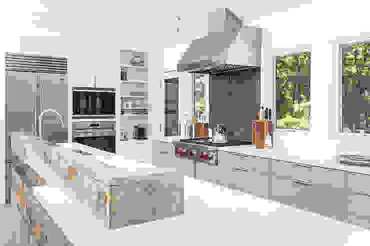 Quogue Weekend House, Quogue, NY Modern Kitchen by BILLINKOFF ARCHITECTURE PLLC Modern