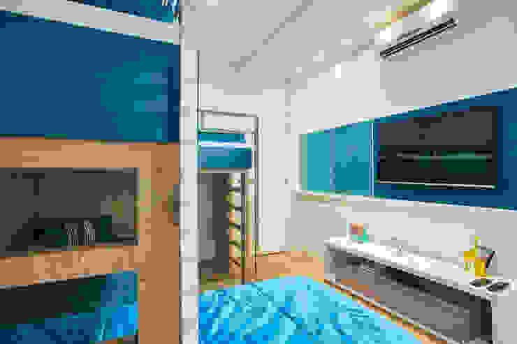 Chambre d'enfant moderne par grupo pr | arquitetura e design Moderne