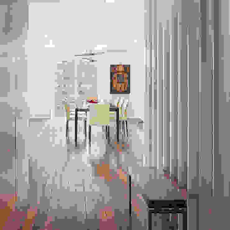 BILLINKOFF ARCHITECTURE PLLC 走廊 & 玄關