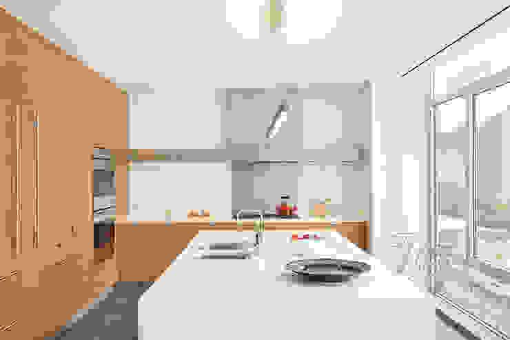 Küche von BILLINKOFF ARCHITECTURE PLLC, Minimalistisch