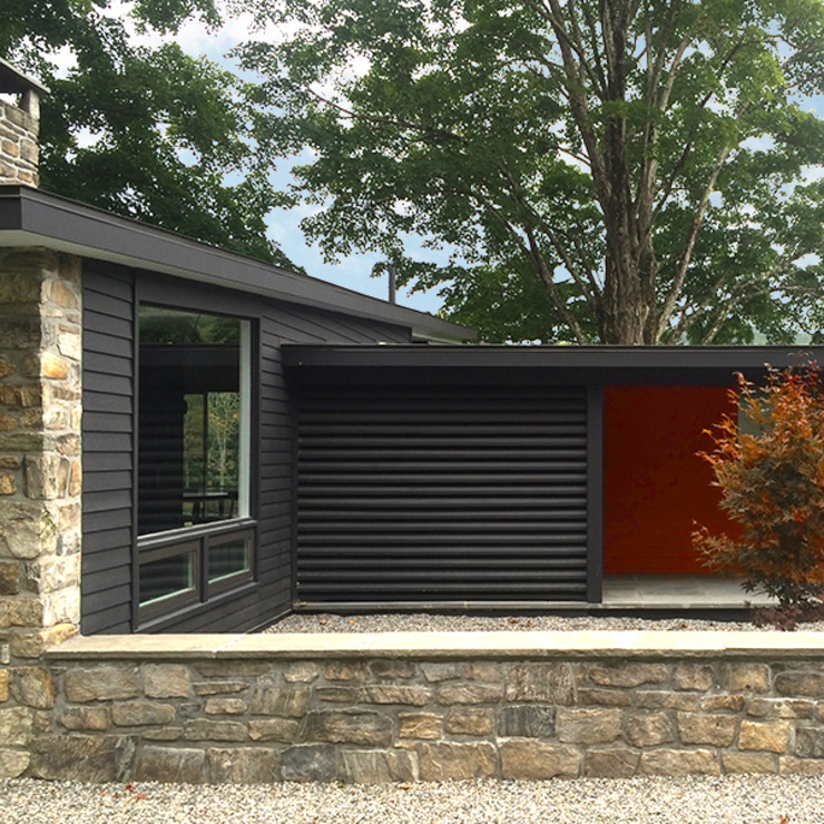 Macedonia Brook Road Midcentury, Kent, CT Modern Houses by BILLINKOFF ARCHITECTURE PLLC Modern