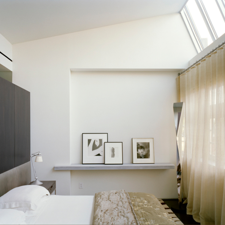 West Village Brownstone, New York, NY Eclectic style bedroom by BILLINKOFF ARCHITECTURE PLLC Eclectic