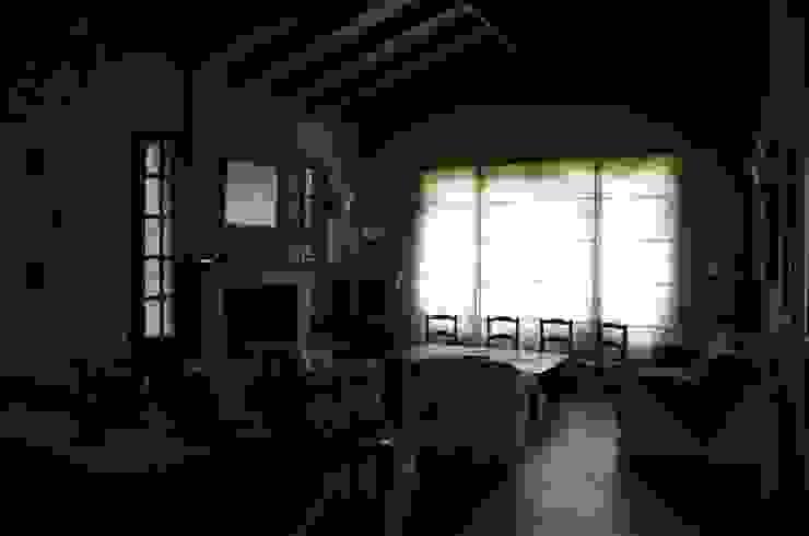 living comedor Salones rurales de Arq Andrea Mei - C O M E I - Rural