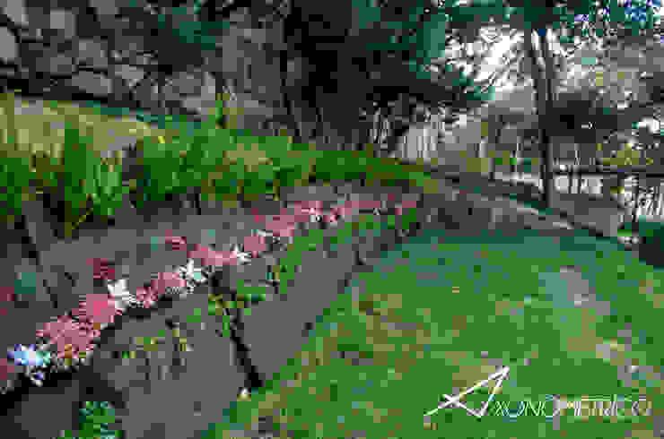 Muro Verde Jardines modernos de Axonometrico Moderno
