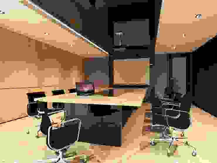 Amigo office Silom: ทันสมัย  โดย Ps.studio Design, โมเดิร์น
