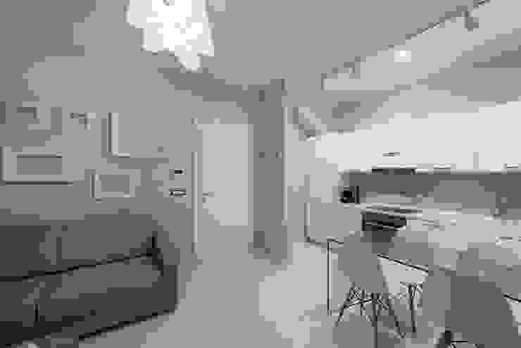 Angelo De Leo Photographer Built-in kitchens Engineered Wood White