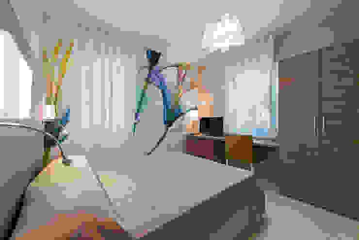 Angelo De Leo Photographer Mediterranean style bedroom Wood Beige