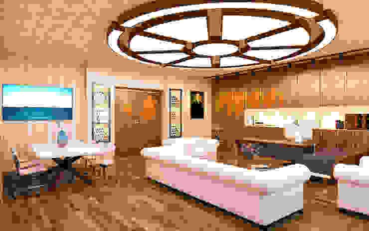 modern  by Hasan Gültürk 3d Görselleştirme ve Tasarım Hizmetleri, Modern Wood Wood effect