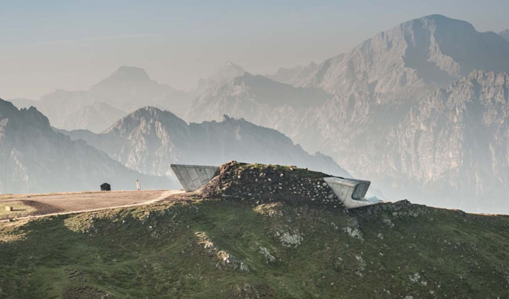 Pavimento NUVOLATO - Messner Mountain Museum de Fermox Solutions Industrial