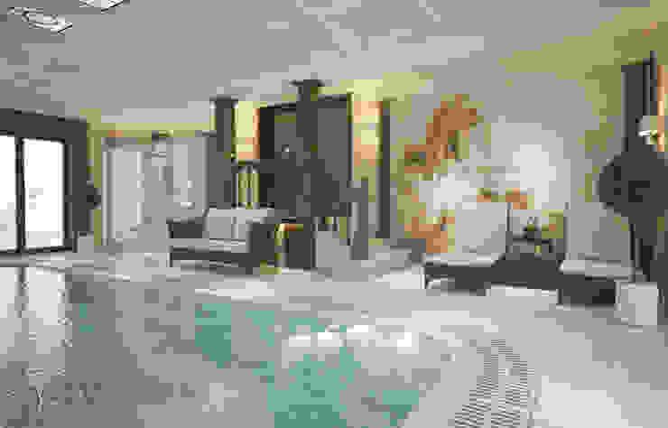 ISDesign group s.r.o. Infinity pool Stone Beige