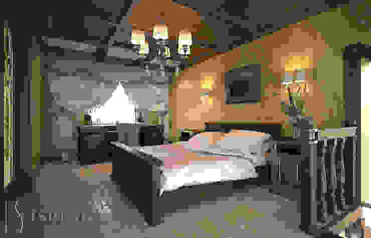 Спальная комната Спальня в классическом стиле от ISDesign group s.r.o. Классический Дерево Эффект древесины