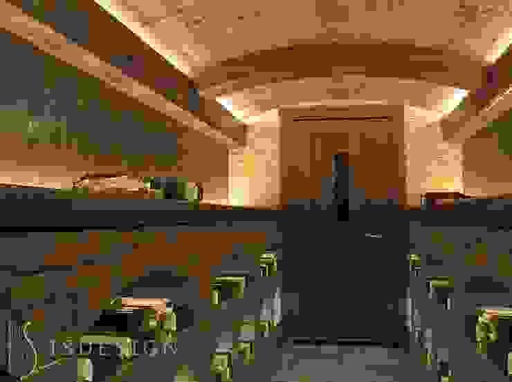 ISDesign group s.r.o. Classic style wine cellar Bricks Brown