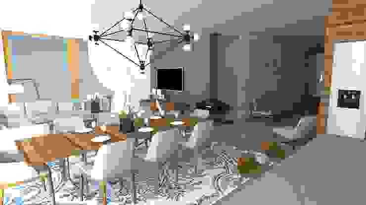 Eetkamer Moderne eetkamers van Koho Modern