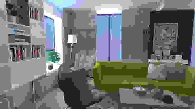 Woonkamer Moderne woonkamers van Koho Modern