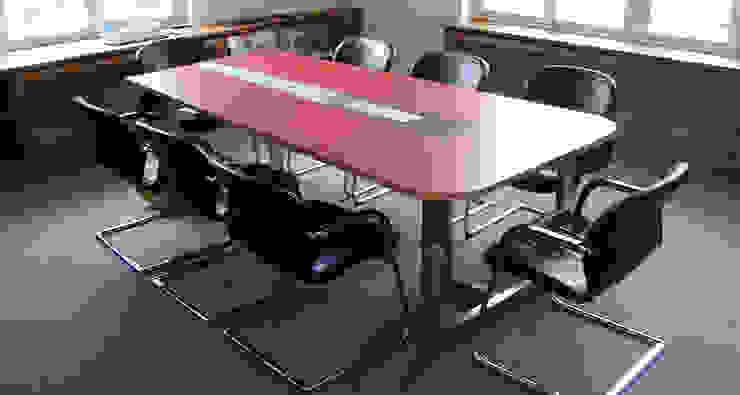 Konferenzraum Reinhard Rotthaus Moderne Arbeitszimmer Holzwerkstoff Weiß