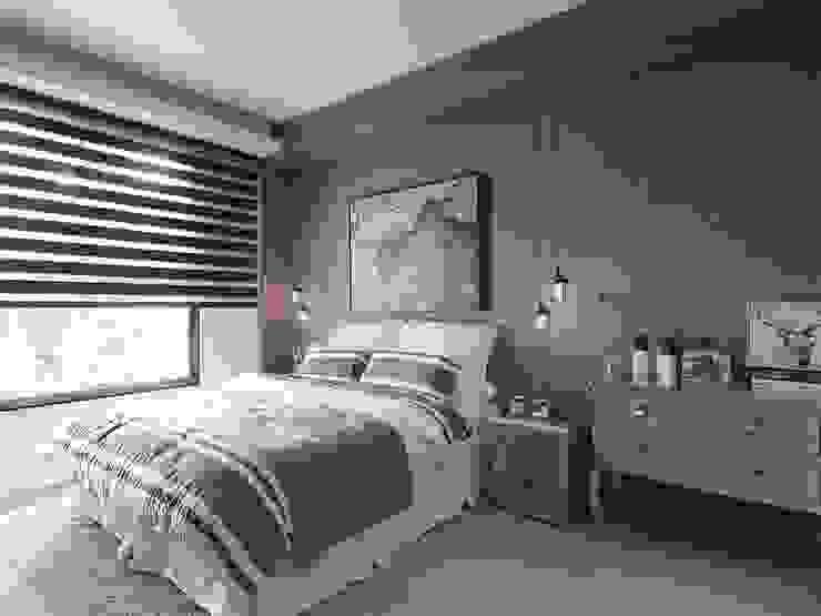 Habitaciones de estilo rústico de KD Panels Rústico Madera Acabado en madera