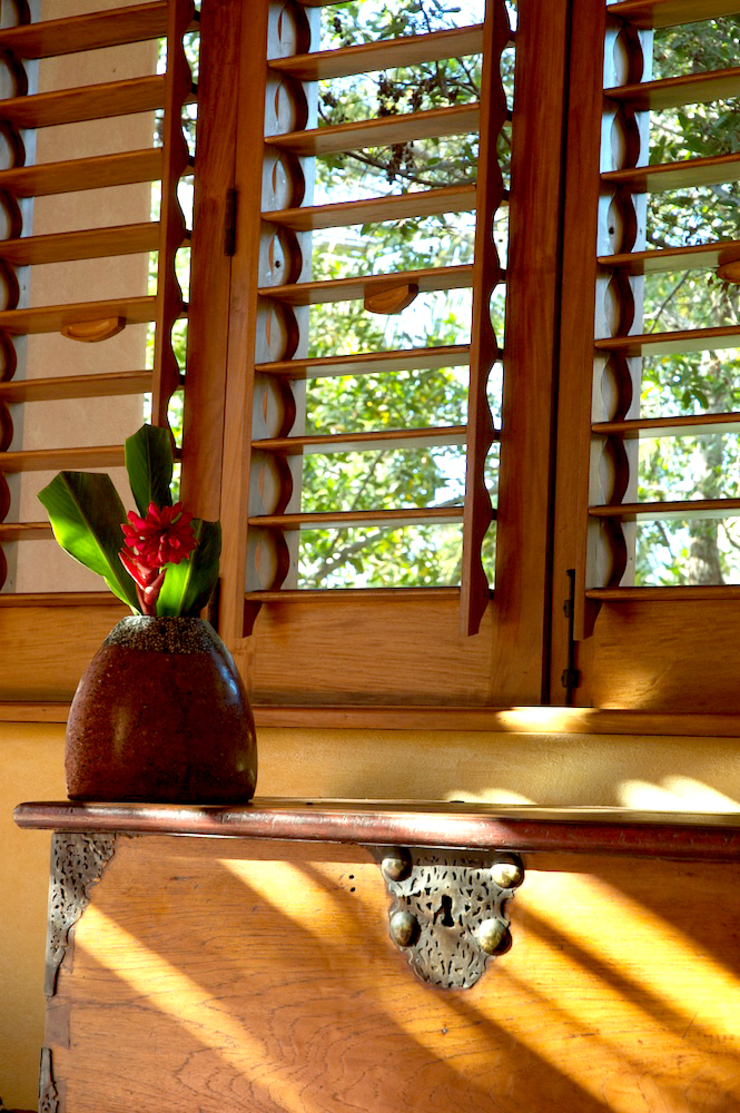 fotógrafo profesional de Arquitectura en México foto de arquitectura Dormitorios de estilo tropical Madera Ámbar/Dorado