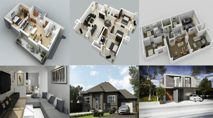3D Exterior & Interior Renderings for Floor Plans The 2D3D Floor Plan Company