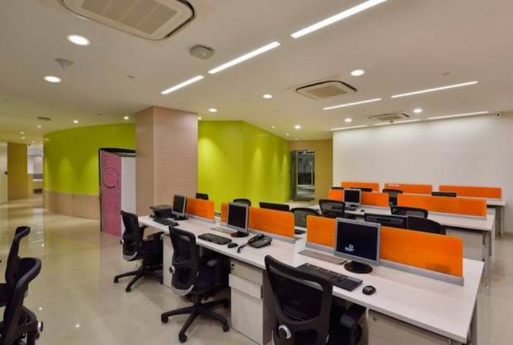 Administration Department Modern schools by Studio - Architect Rajesh Patel Consultants P. Ltd Modern