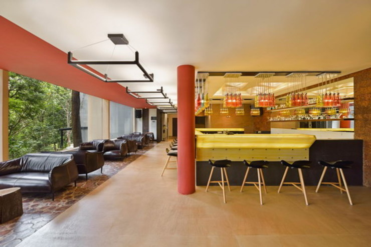 Elevate Bar-Bar Counter Studio - Architect Rajesh Patel Consultants P. Ltd Hotels