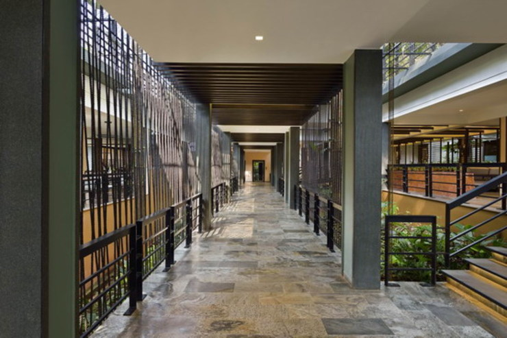 Pattole Palome-Corridor Studio - Architect Rajesh Patel Consultants P. Ltd Hotels