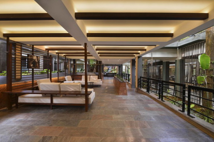 Pattole Palome- Lounge/Waiting Area Studio - Architect Rajesh Patel Consultants P. Ltd Hotels