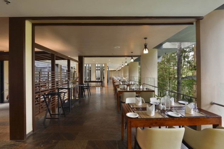 The FIG Restaurant - Dining Area Studio - Architect Rajesh Patel Consultants P. Ltd Hotels