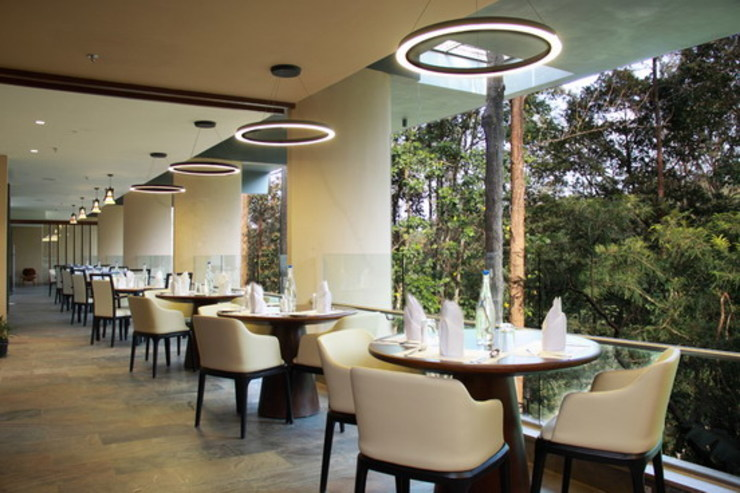 The FIG Restaurant-Dining Area Studio - Architect Rajesh Patel Consultants P. Ltd Hotels