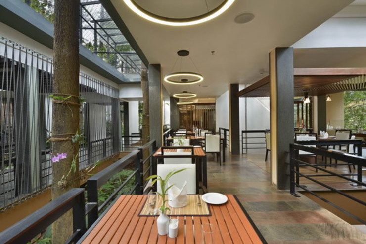 The FIG Restaurant- DIning Area Studio - Architect Rajesh Patel Consultants P. Ltd Hotels