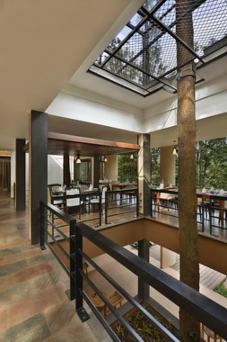 The FIG Restaurant- Atrium Studio - Architect Rajesh Patel Consultants P. Ltd Hotels