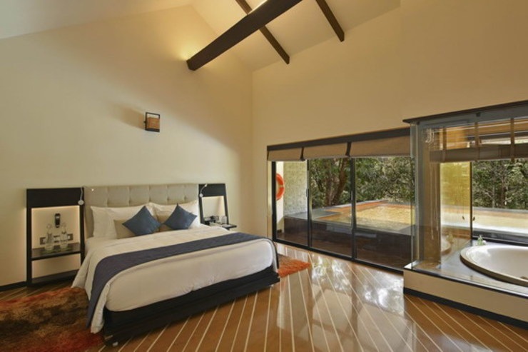 Villa- Bedroom Studio - Architect Rajesh Patel Consultants P. Ltd Hotels