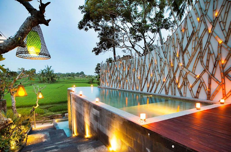 WaB - Wimba anenggata architects Bali Hotels Wood Multicolored