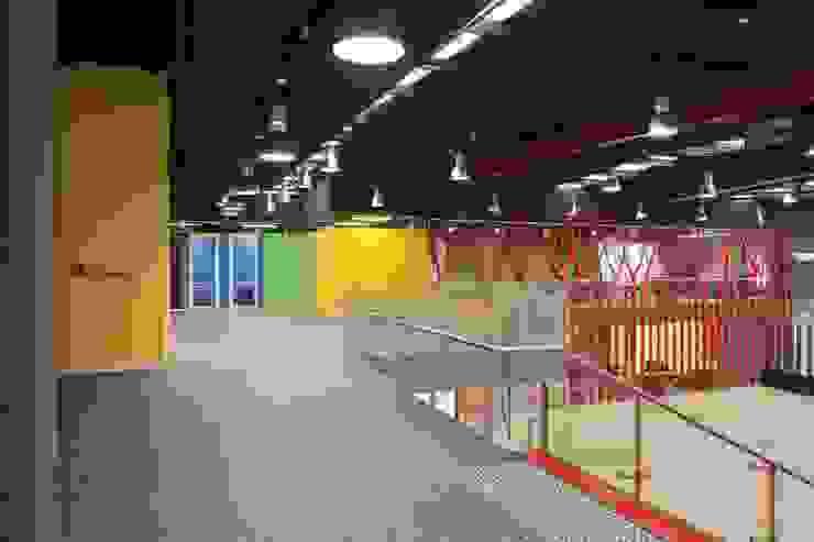 Mezzanine Area Studio - Architect Rajesh Patel Consultants P. Ltd Schools
