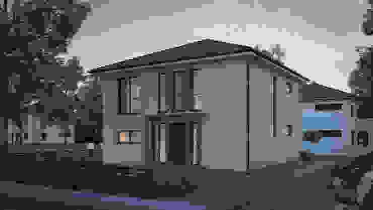 Stadtvilla GARDEWEG EINS Moderne Häuser von Dipl.Ing. Architekt T. Schlingelhof Modern