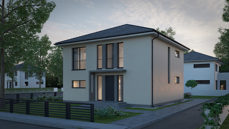 Modern houses by Dipl.Ing. Architekt T. Schlingelhof Modern