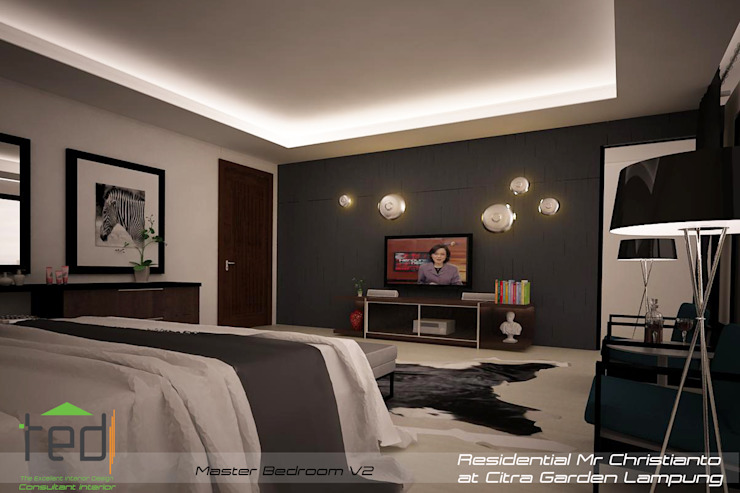 Modern living room by PD.Teguh Desain Indonesia Modern