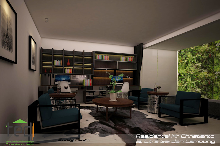 Modern study/office by PD.Teguh Desain Indonesia Modern
