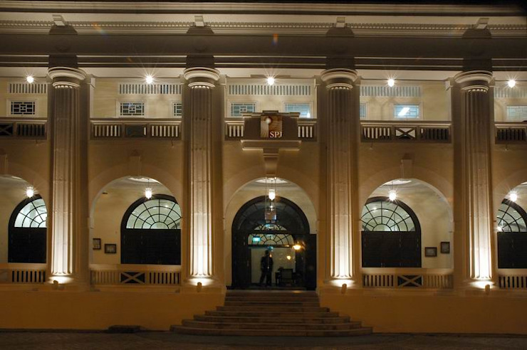 Entrance Modern schools by Studio - Architect Rajesh Patel Consultants P. Ltd Modern