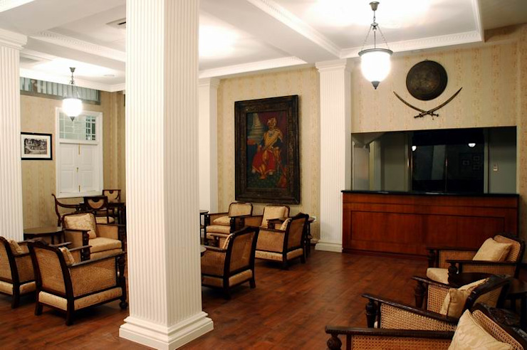Reception Modern schools by Studio - Architect Rajesh Patel Consultants P. Ltd Modern