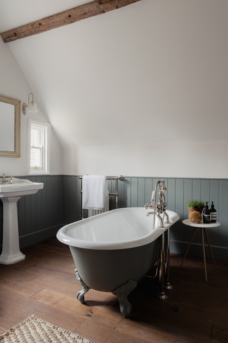 Georgian House Renovation and extension HollandGreen Classic style bathroom