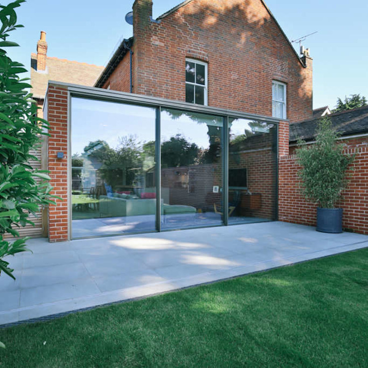 Kitchen extension and Renovation in Thame, Oxfordshire Modern houses by HollandGreen Modern