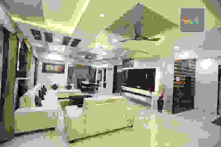 Living Room Interior Design KAM'S DESIGNER ZONE Classic style living room